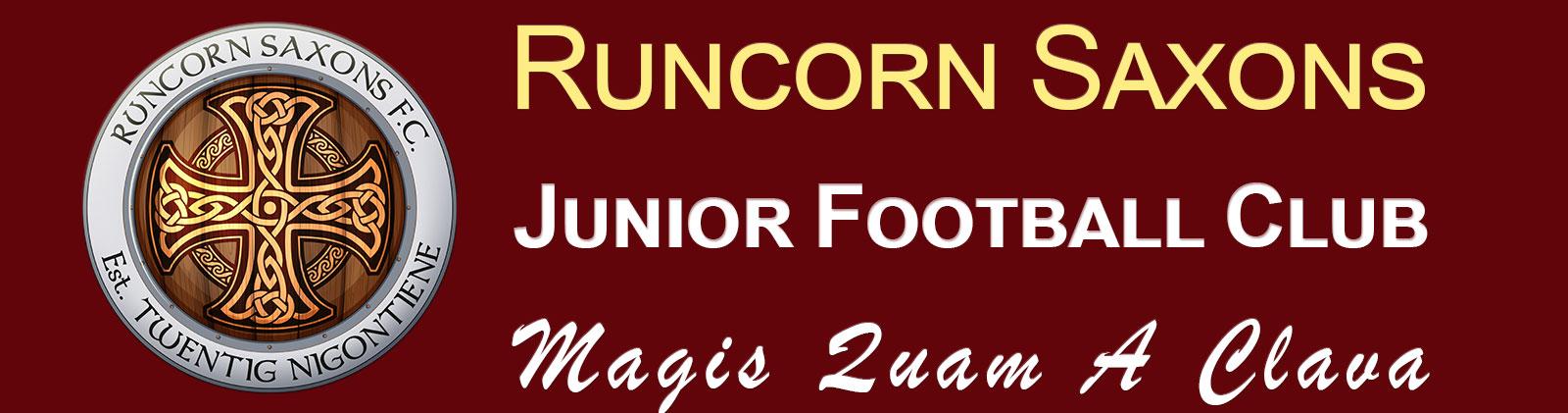 Runcorn Saxons Junior Football Club logo